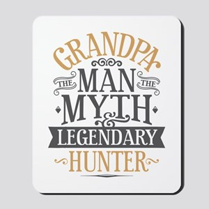 Grandpa Hunter Mousepad
