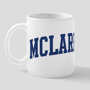 MCLAREN design (blue) Mug