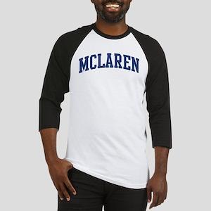 MCLAREN design (blue) Baseball Jersey
