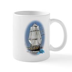 Us Brig Niagara Mugs