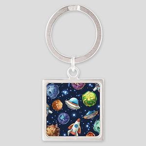 Cartoon Space Keychains