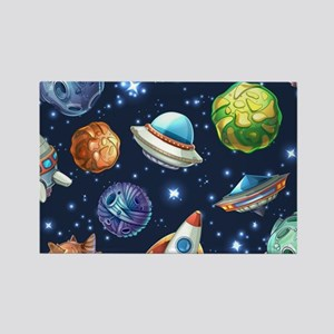 Cartoon Space Magnets