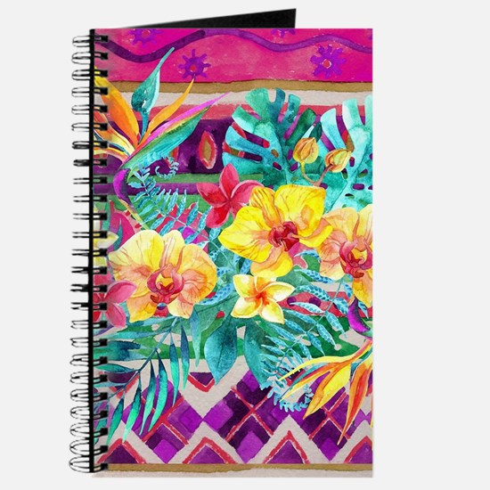 Tropical Watercolor Journal