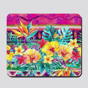 Tropical Watercolor Mousepad
