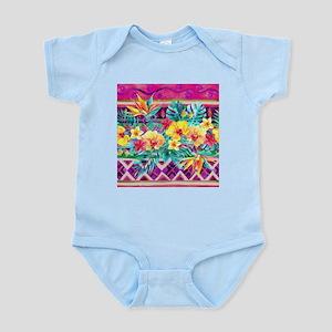 Tropical Watercolor Body Suit