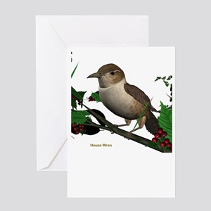 House Wren Greeting Card