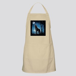 Howling Wolf Apron