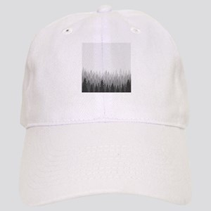 Gray Forest Baseball Cap