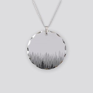 Gray Forest Necklace