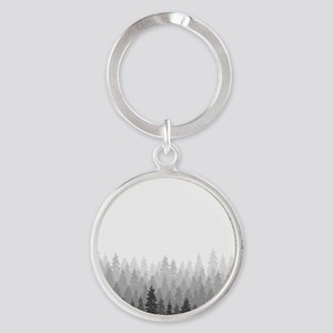 Gray Forest Keychains