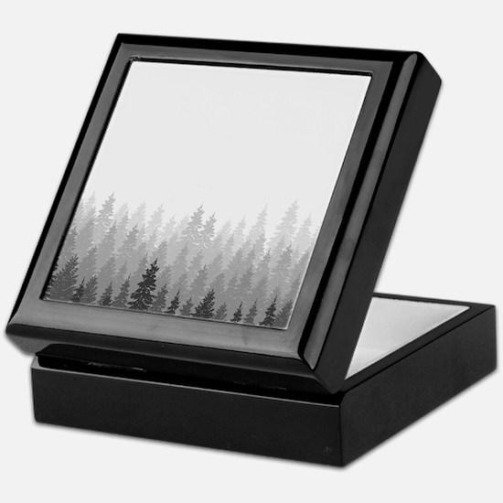 Gray Forest Keepsake Box