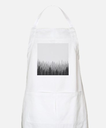 Gray Forest Apron