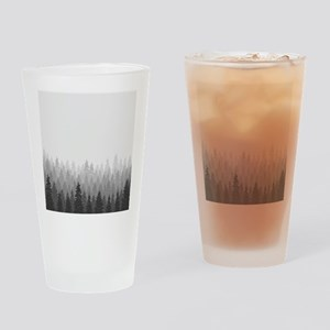 Gray Forest Drinking Glass