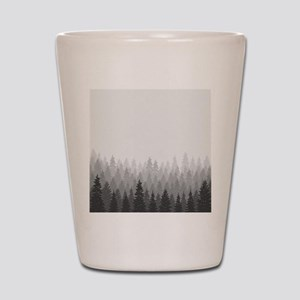 Gray Forest Shot Glass