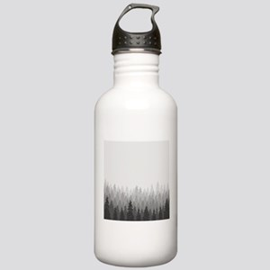 Gray Forest Water Bottle