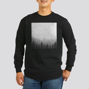 Gray Forest Long Sleeve T-Shirt