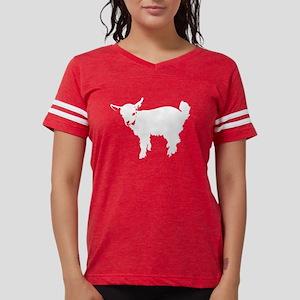 White Baby Goat Women's Dark T-Shirt