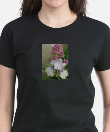 oris and other flower in garden T-Shirt
