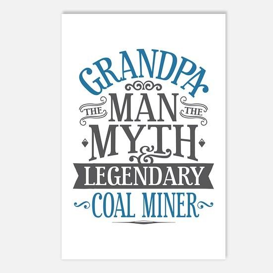 Grandpa Coal Miner Postcards (Package of 8)