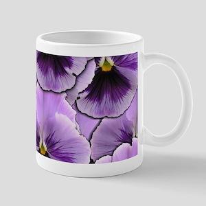 Pansy Patch Mugs