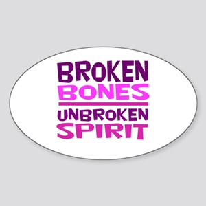 Broken bones Sticker