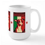 Obey the Italian Greyhound! Large Mug