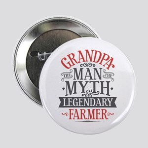 "Grandpa Farmer 2.25"" Button"
