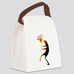 Kokopelli Man Jams Canvas Lunch Bag