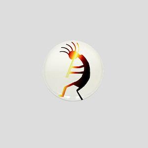 Kokopelli Man Jams Mini Button