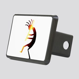 Kokopelli Man Jams Rectangular Hitch Cover