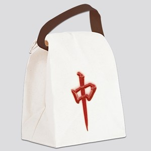 red zhong Canvas Lunch Bag