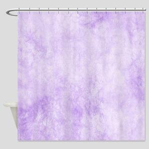 Purple Wash Shower Curtain