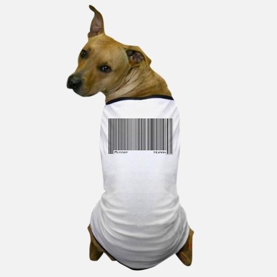 Almost Human Barcode Dog T-Shirt
