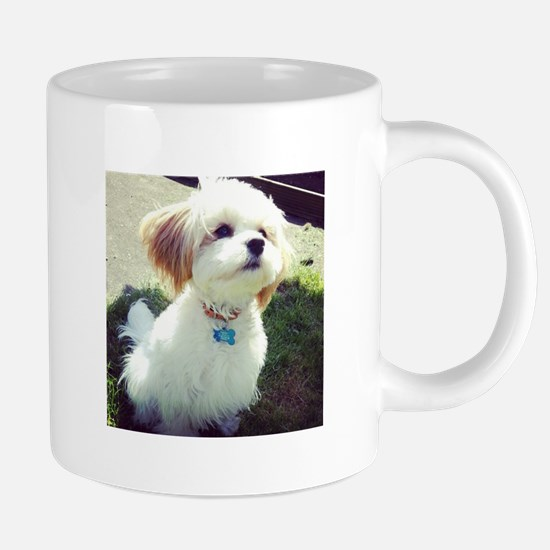 Barney the Cavachon in Stainless Steel Travel Mugs