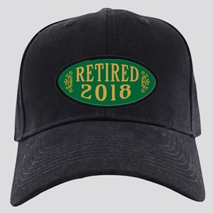 Retired 2018 Black Cap with Patch