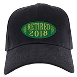 Retirement Baseball Cap with Patch