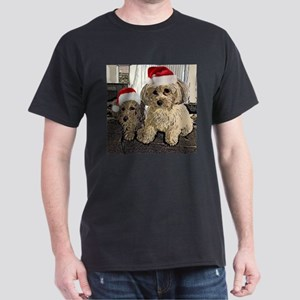 Christmas Cute dogs Copper and Peny T-Shirt