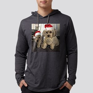 Christmas Cute dogs Copper and Long Sleeve T-Shirt