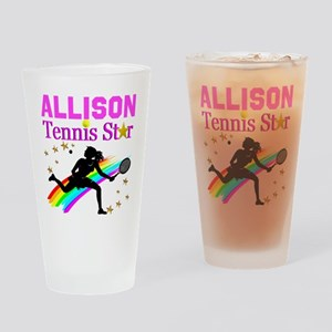 PERSONALIZED TENNIS Drinking Glass