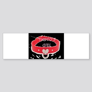 Daddy's Girl (black) Bumper Sticker