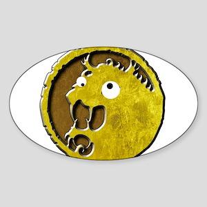 Lion Clan googly eyes mon Sticker