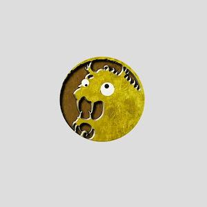 Lion Clan googly eyes mon Mini Button