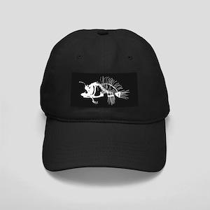 Angler Fish Black Cap