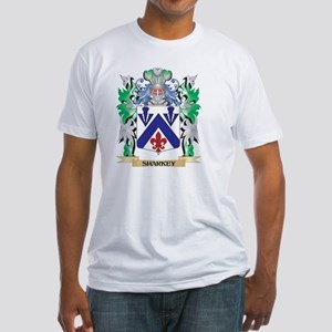 Sharkey Coat of Arms - Family Crest T-Shirt