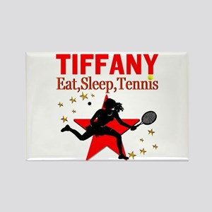PERSONALIZED TENNIS Rectangle Magnet