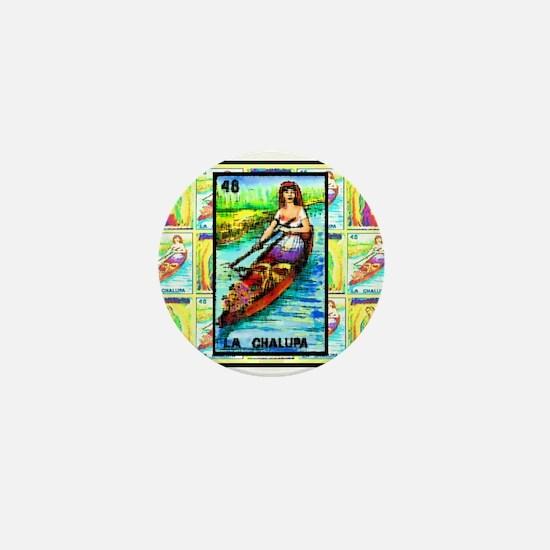 La Chalupa & Guadalupe Mini Button