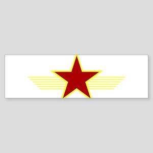 Red Star Bumper Sticker