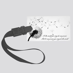 Dandelion Large Luggage Tag