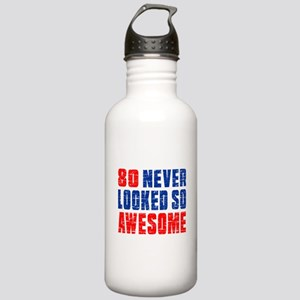 80 Never looked So Muc Stainless Water Bottle 1.0L