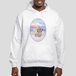 OvOrn-Clouds - Lhasa Apso 11 Sweatshirt